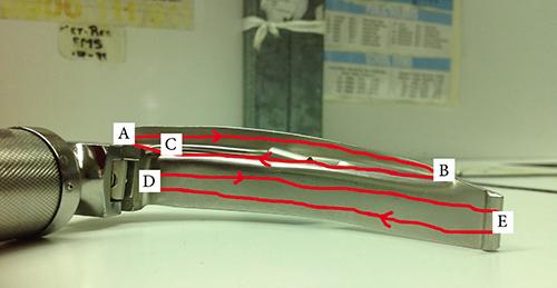 Laryngoscope Blade Cleaning e of Laryngoscope Blade